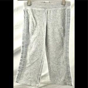 Adidas toddler girls size 4 athletic sweat pants